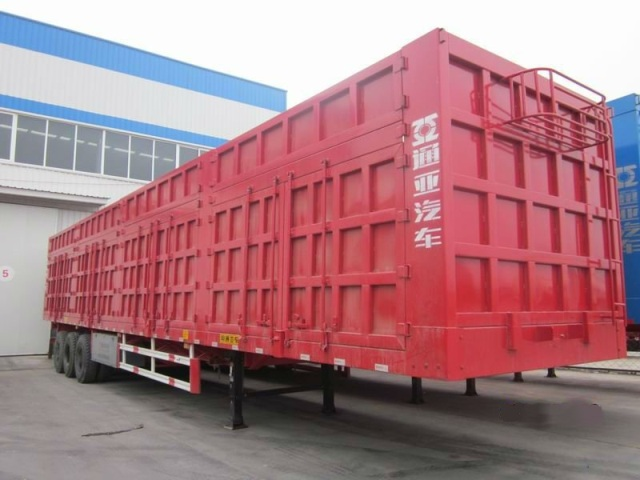 Box Transport Semi Trailer