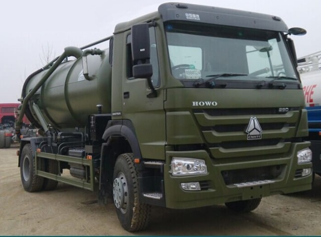 Sewage Suction Truck 10 CBM