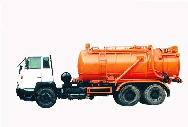 Sewage Suction Truck 13 CBM