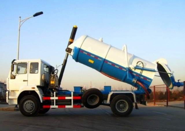 Sewage Suction Truck 8CBM